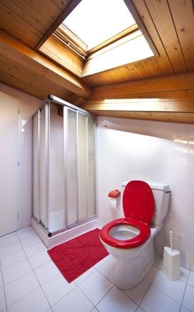 salle de bains combles