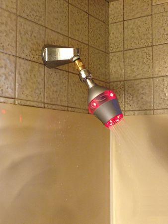 Pomme de douche intelligent