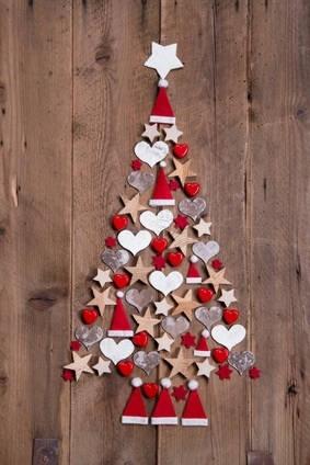 Sapin de Noël pour espaces réduits