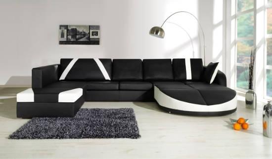 Canapé d'angle.