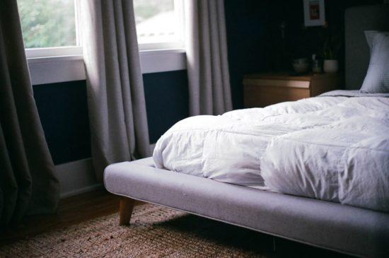 lit avec matelas