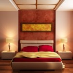 Dormez au Japon avec une décoration d'inspiration nippone dans la chambre à coucher