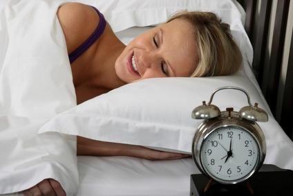 femme qui dort confortablement