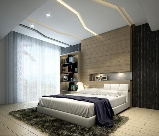 Décoration design chambre.