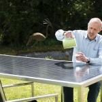 Le mobilier de jardin photovoltaïque