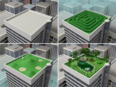 Une toiture v g talis e intelligente - Immeuble vegetal ...