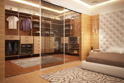 comment am nager son dressing. Black Bedroom Furniture Sets. Home Design Ideas
