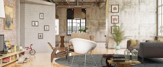 interieur beton