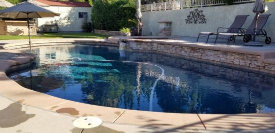 piscine exterieure chauffee