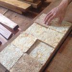 Des briques en champignon Mycotech