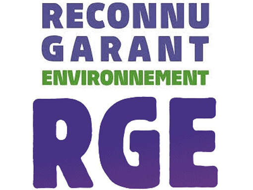 logo rge - reconnu garant de l'environnement