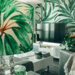 La tendance tropicale apporte un air de vacances à votre décoration