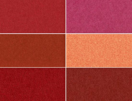 palette de nuances terracotta