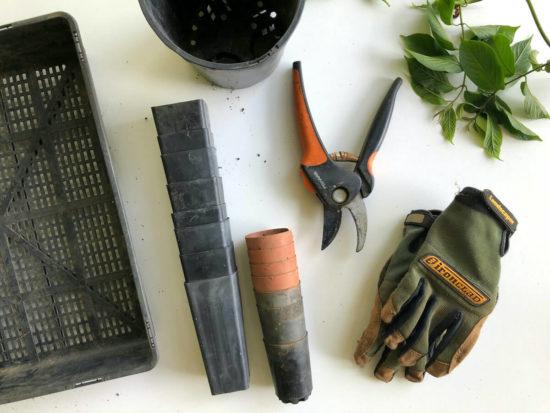 accessoires et ouitls pour le jardin