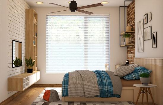 ventilateur a pales au plafond
